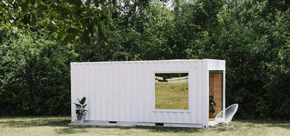 Toronto's online retailer Needs & Wants Studios builds pop-up shopping container
