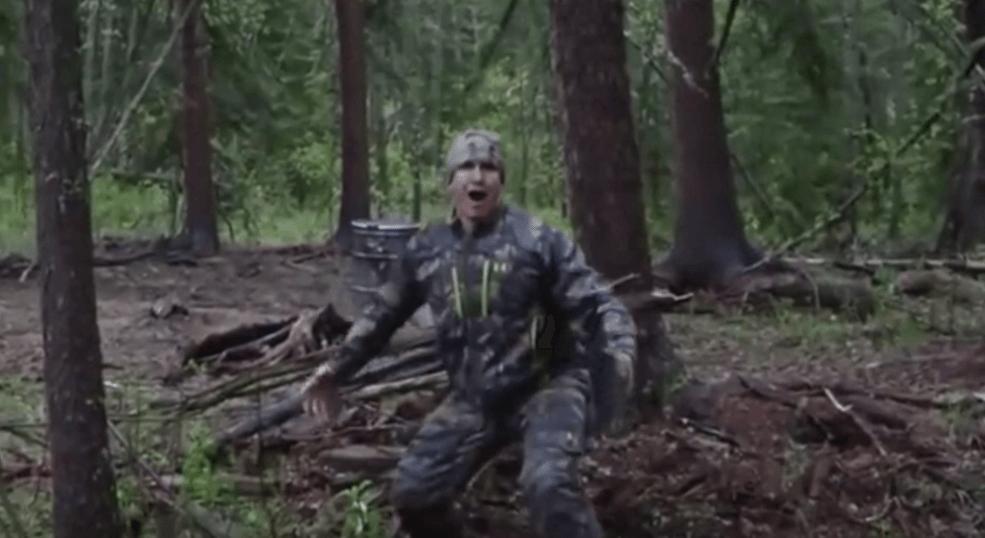 U.s. hunter josh bowmar surprised