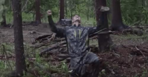 Image: U.S. hunter Josh Bowmar (YouTube / Screenshot)