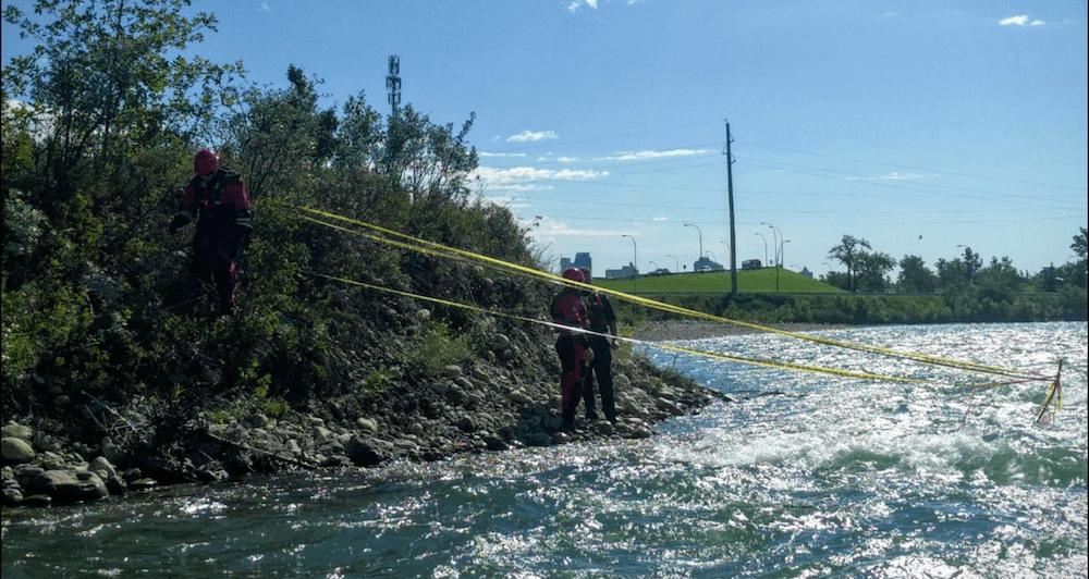 City of calgary bow river rebar