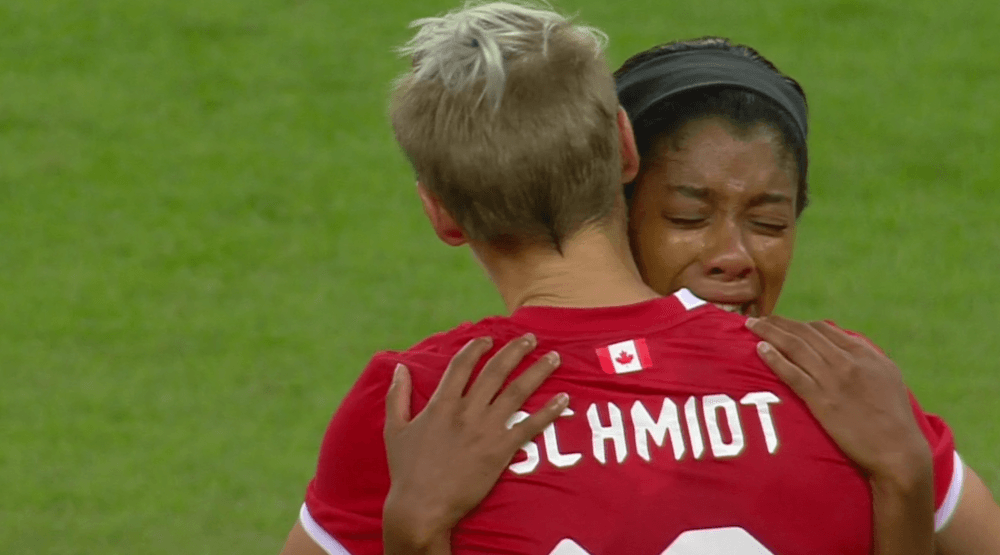 Canada loses to Germany, will play for bronze medal in women's soccer