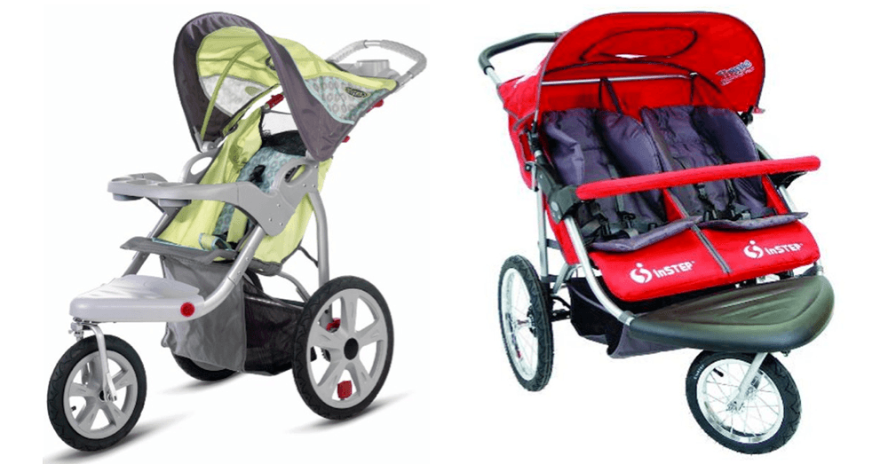 Health Canada issues recall for Dorel swivel wheel jogging strollers