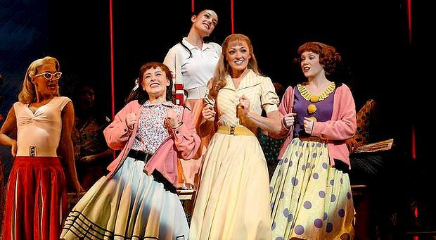 Grease the musical at storybook theatre in calgary storybook theatre