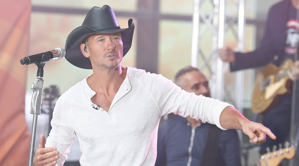 Country superstar Tim McGraw to close out this year's Calgary Stampede