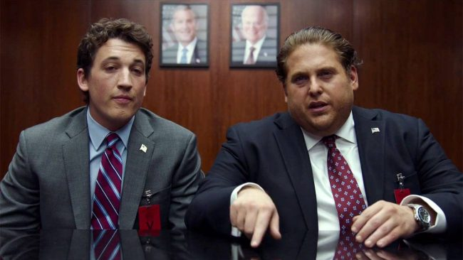 Miles Teller and Jonah Hill Image: Warner Brothers