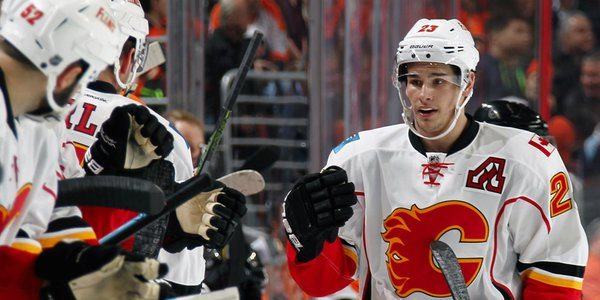 Flames re-sign Sean Monahan to 7-year deal worth $6.38M annually