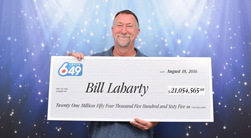 Bill laharty won 21million nanaimo
