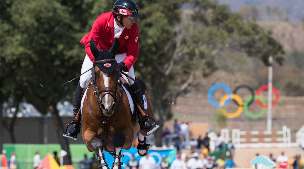 48-year-old Eric Lamaze wins Olympic bronze for Canada in Equestrian