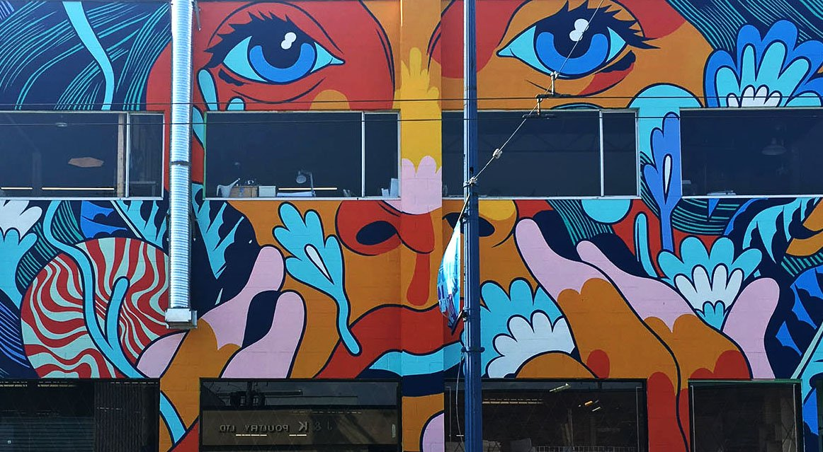 12 photos of incredible new murals you can find in for Mural vancouver