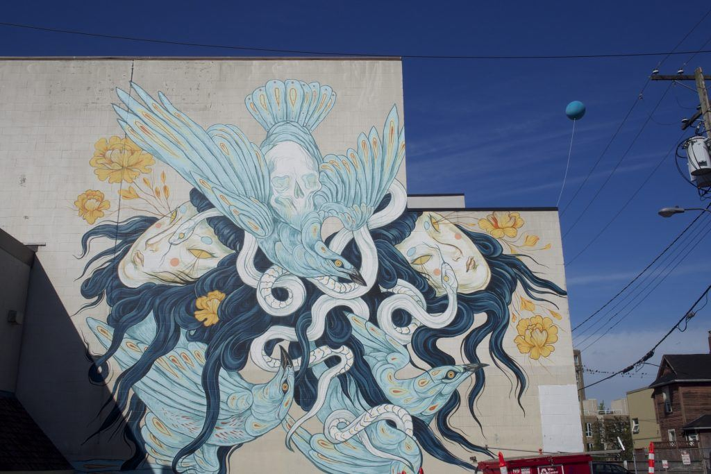 East Broadway Street Art/Daily Hive
