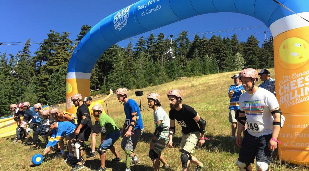 Who needs Rio? Whistler Cheese Rolling Festival redefines competitive sports