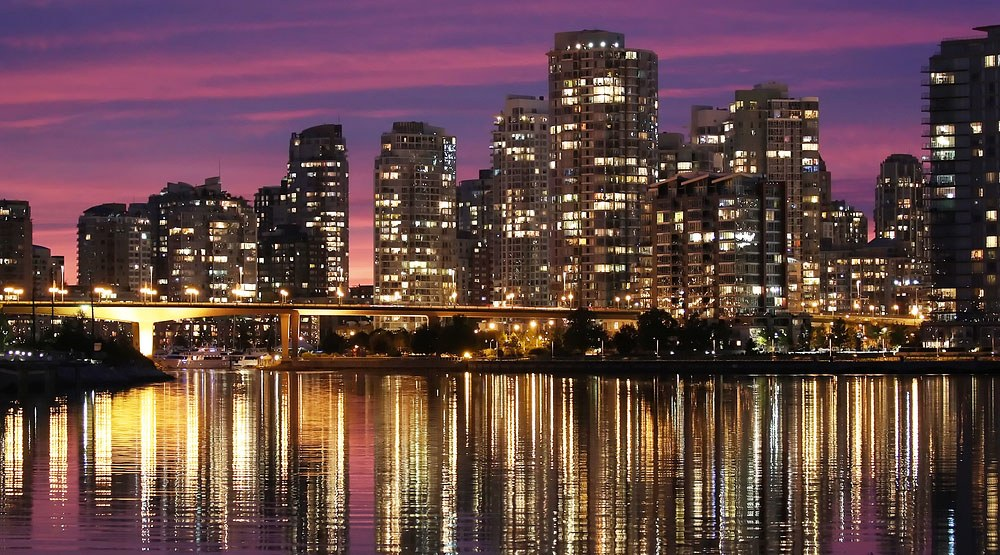 Vancouver at sunset stephen chung shutterstock