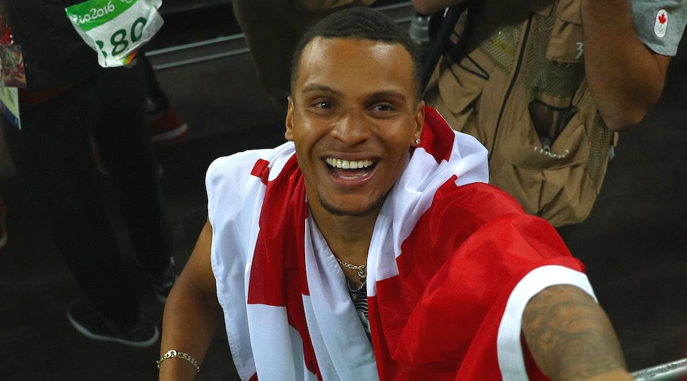 Andre De Grasse looking to be the world's next greatest sprinter after Rio 2016 breakthrough