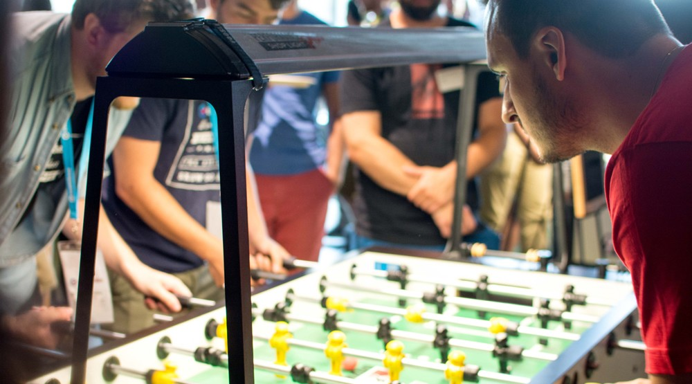 "33 Vancouver tech companies gather for ""the biggest foosball tournament in Canada"" (PHOTOS)"