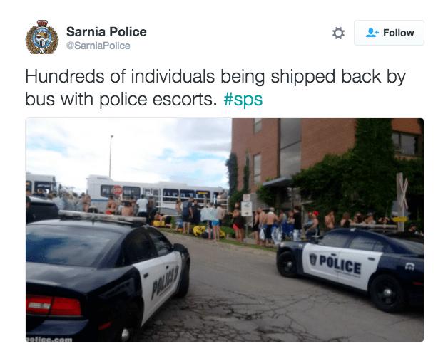 Americans invade Canada