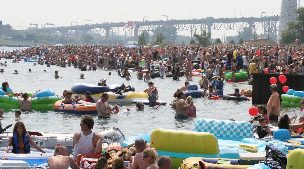 "US and Canadian Coast Guards warn of unsanctioned ""Float Down"" event"