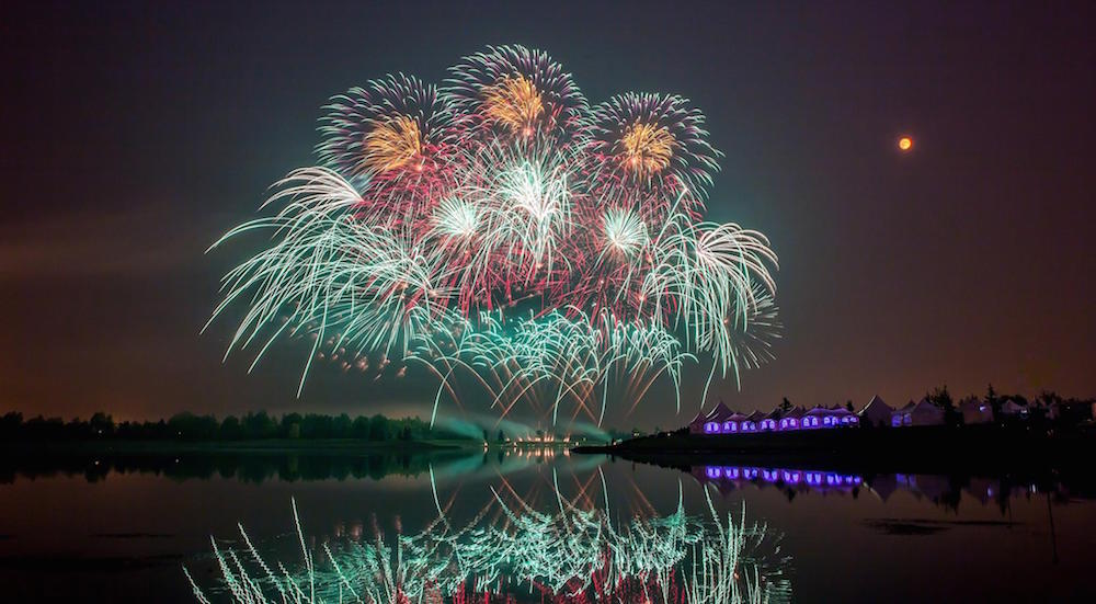 Photos from Globalfest 2016 fireworks show