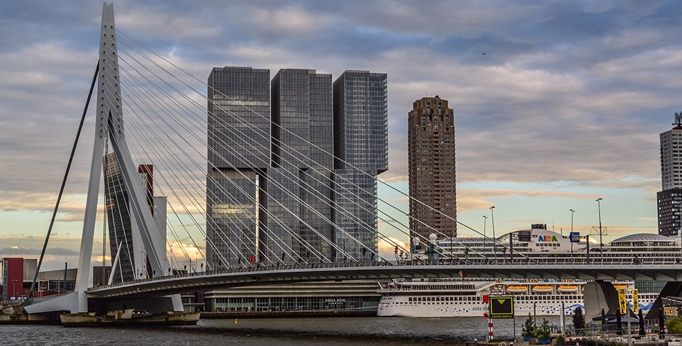 75 years after its destruction, Rotterdam continues to reinvent itself (PHOTOS, VIDEO)