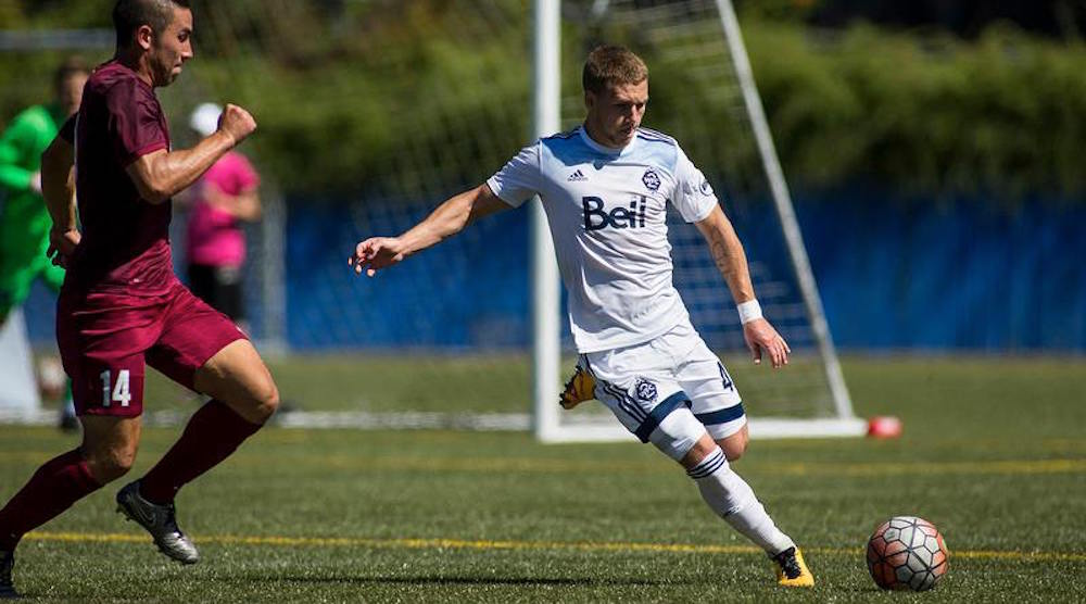 Whitecaps FC sign Canadian defender Brett Levis to MLS contract