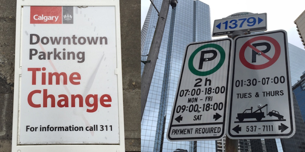 Parking changes to be aware of in downtown Calgary