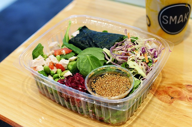 SMAK Salad (Jess Fleming/Daily Hive)