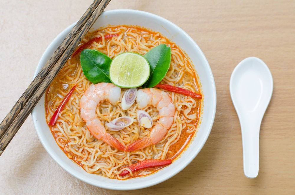 Tom Yam Koong soup