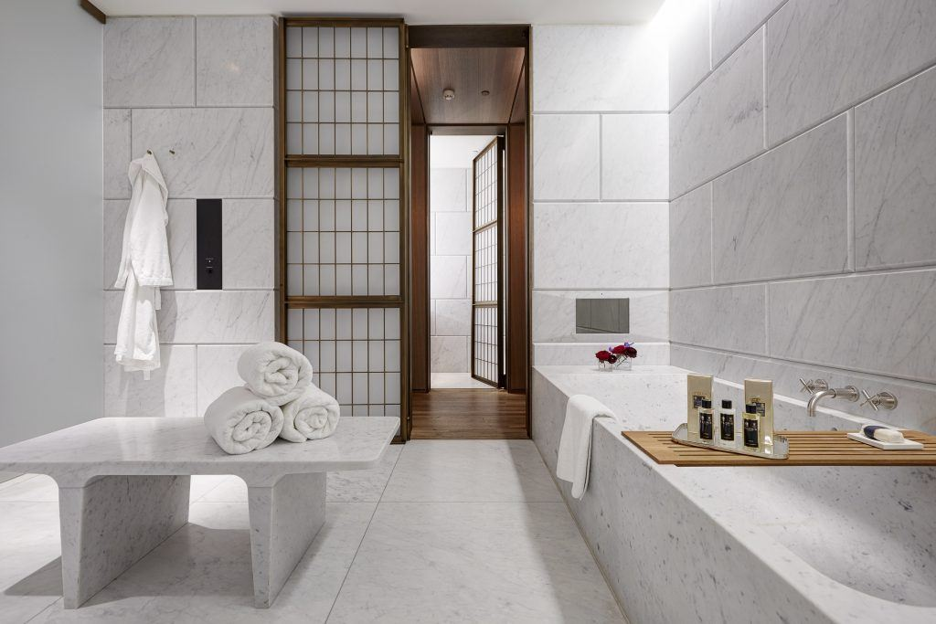 10 hotel bathrooms around the world that are bigger than for 5 star bathroom designs