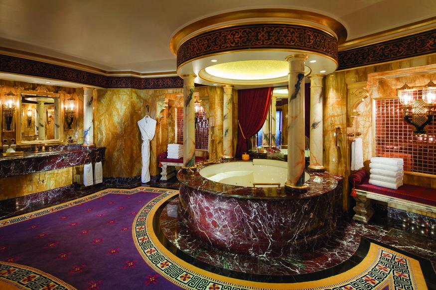 Big hotel bathrooms
