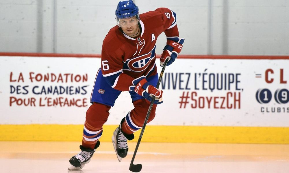 Shea Weber named alternate captain of Team Canada for World Cup of Hockey