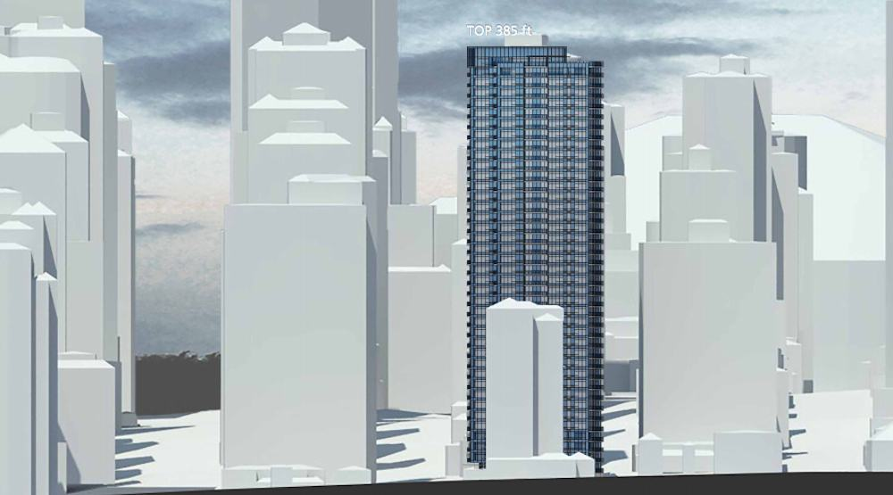 276-unit rental housing tower proposed for Vancouver West End