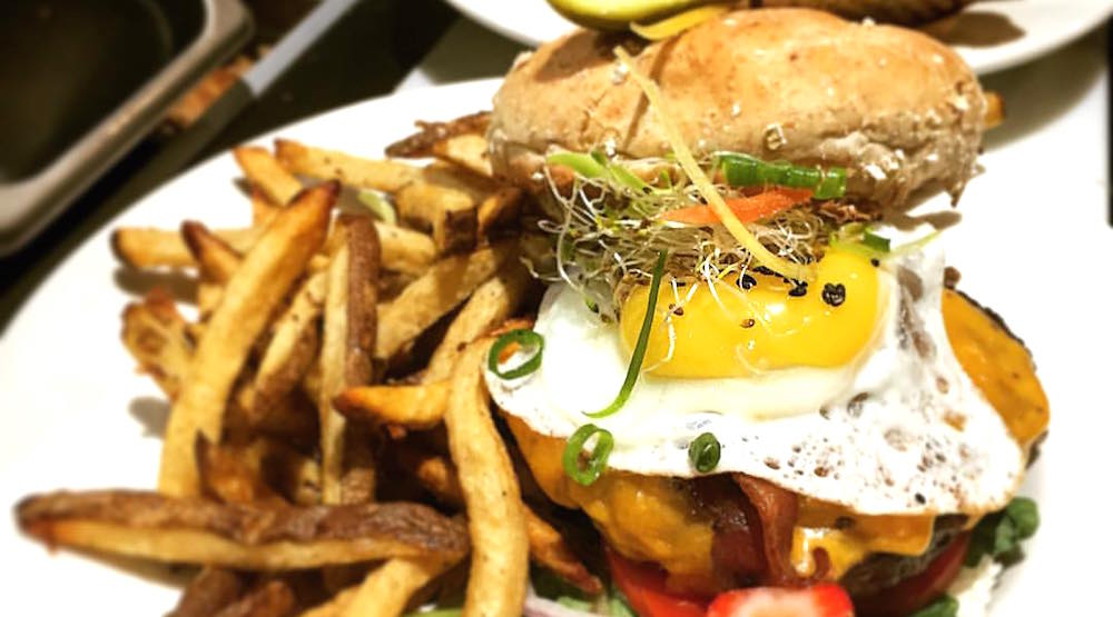 Holy grill brunch burger