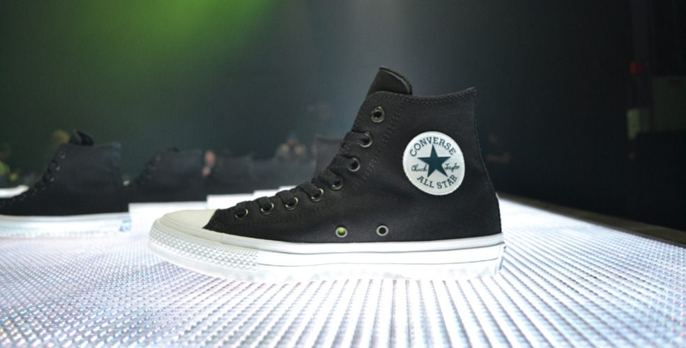 Converse introduces the comfortable Chuck Taylor II