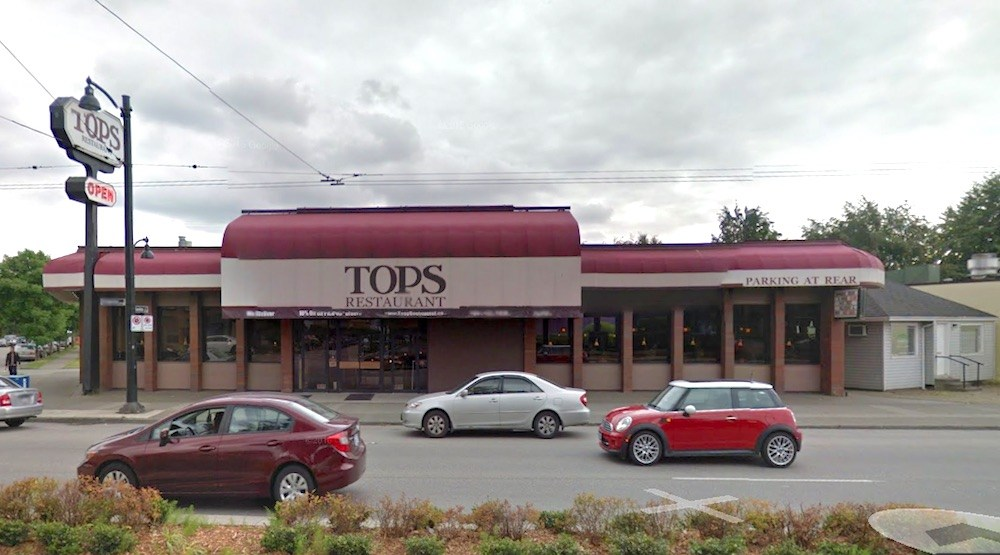 Tops restaurant vancouver