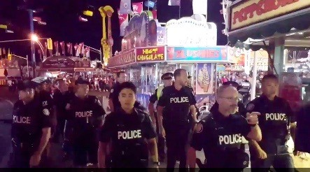 CNE closed early on Youth Day due to fighting, overcrowding, and false report of gunshots (VIDEO)