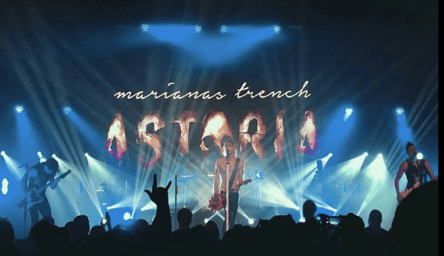 Marianas Trench 2016 concert at the Abbotsford Centre