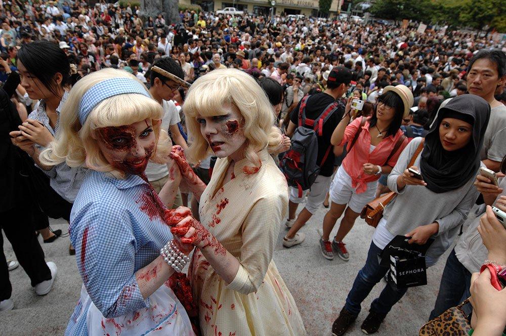 Zombiewalk Vancouver (Sergei Bachlakov/Shutterstock)