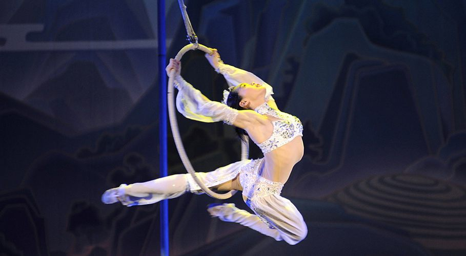 The shanghai acrobats are performing in vancouver on thursday night vso