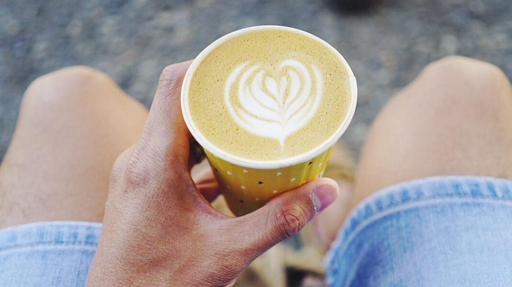 Latte art cup calgary