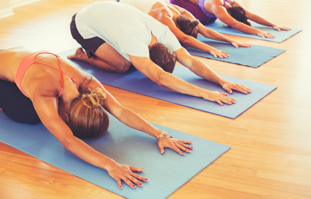 Bend and Brunch: Yoga and Drinks at Craft Beer Market