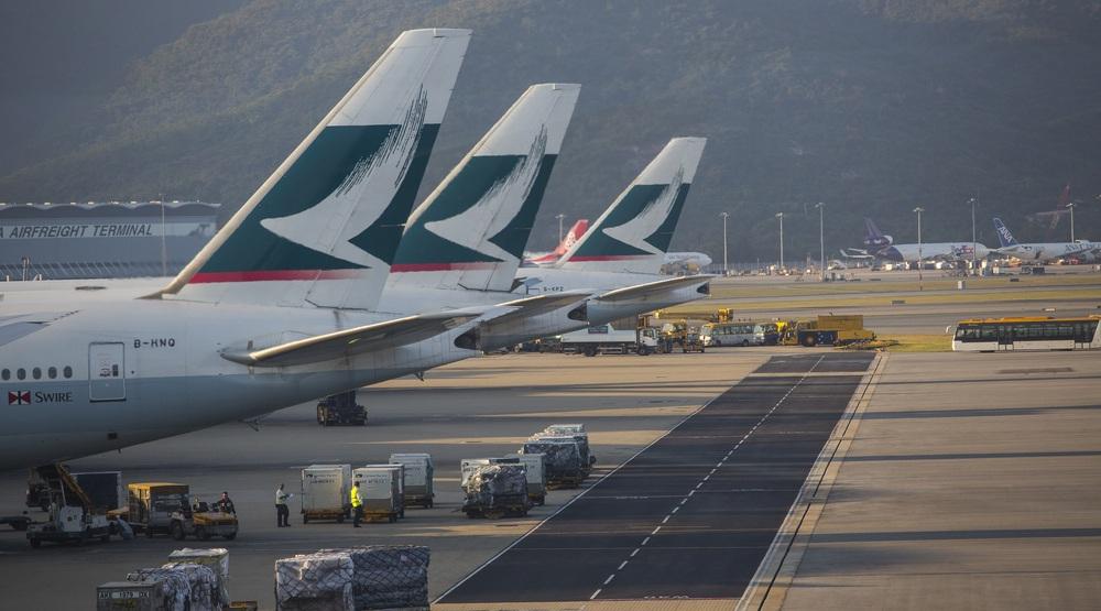 Cathay pacific hong kong international airport