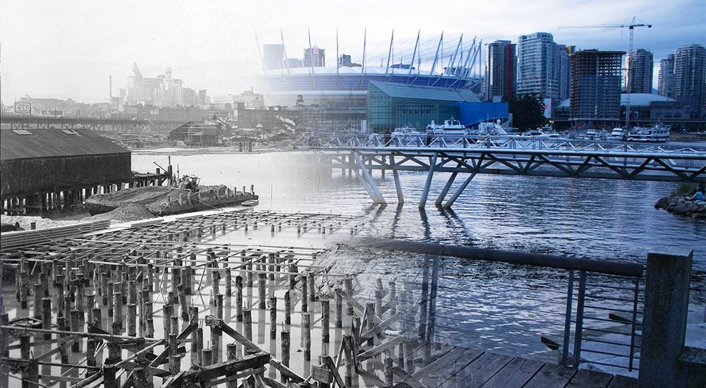 Vancouver Then and Now: False Creek (PHOTOS)