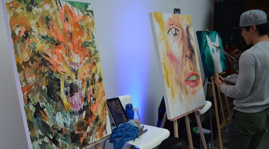 Vancouver Art Attack! hosts 4th live art event celebrating local artists