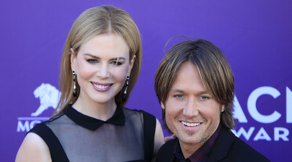 Nicole Kidman, Keith Urban at the 47th Annual Academy Of Country Music Awards held at the MGM Grand Garden Arena on April 1, 2012 in Las Vegas, Nevada (Joe Seer/Shutterstock)