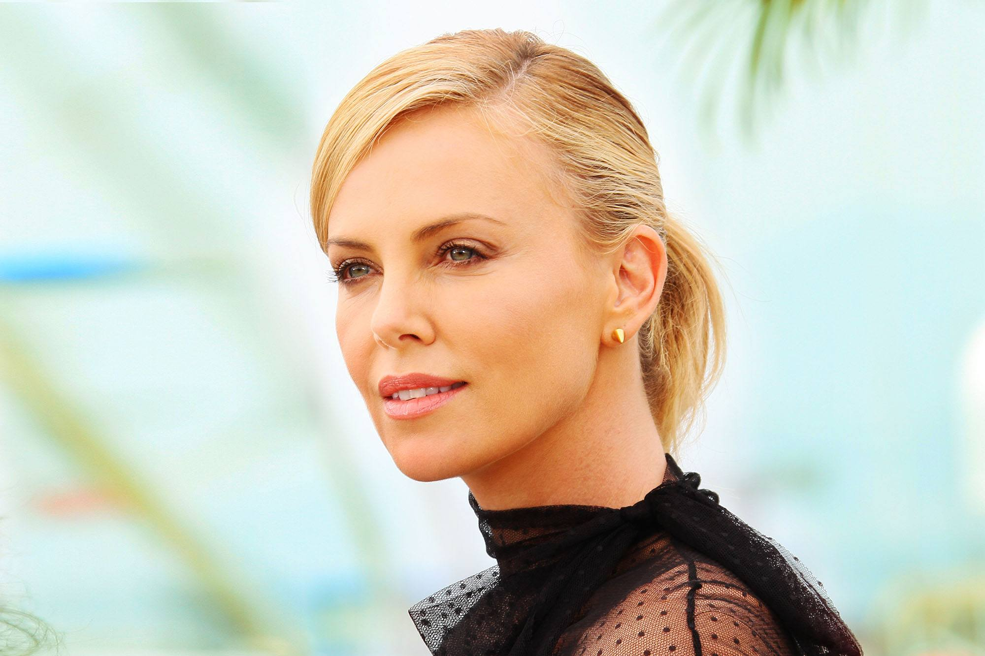 Charlize Theron attends the 'Mad Max - Fury Road' Photocall during the 68th annual Cannes Film Festival on May 14, 2015 in Cannes, France (Denis Makarenko/Shutterstock)