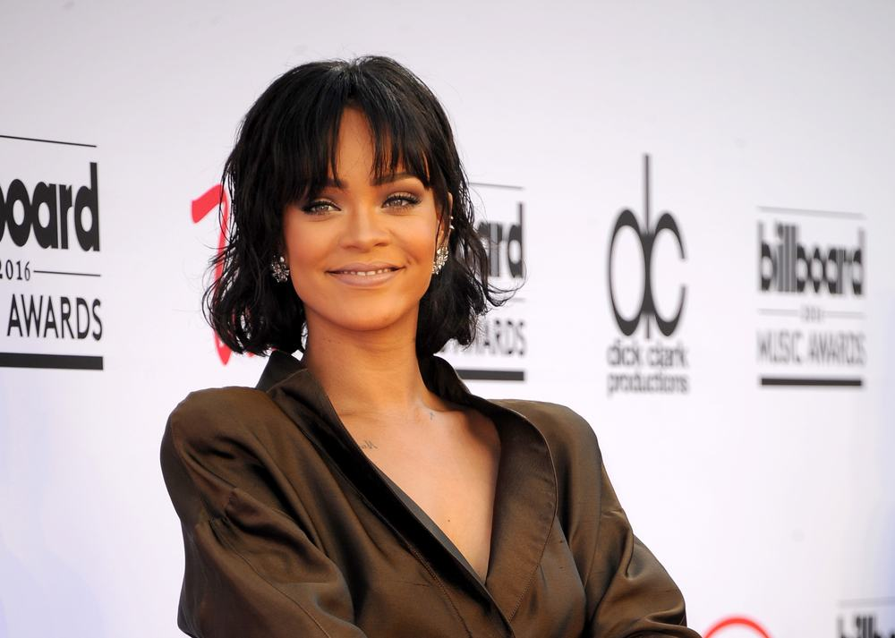 Rihanna at the 2016 Billboard Music Awards held at T-Mobile Arena in Las Vegas, USA on May 22, 2016 (Tinseltown/Shutterstock)