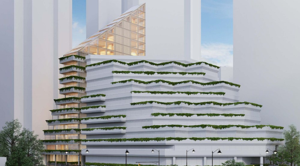 Japanese architect to build world's tallest hybrid timber building in Coal Harbour