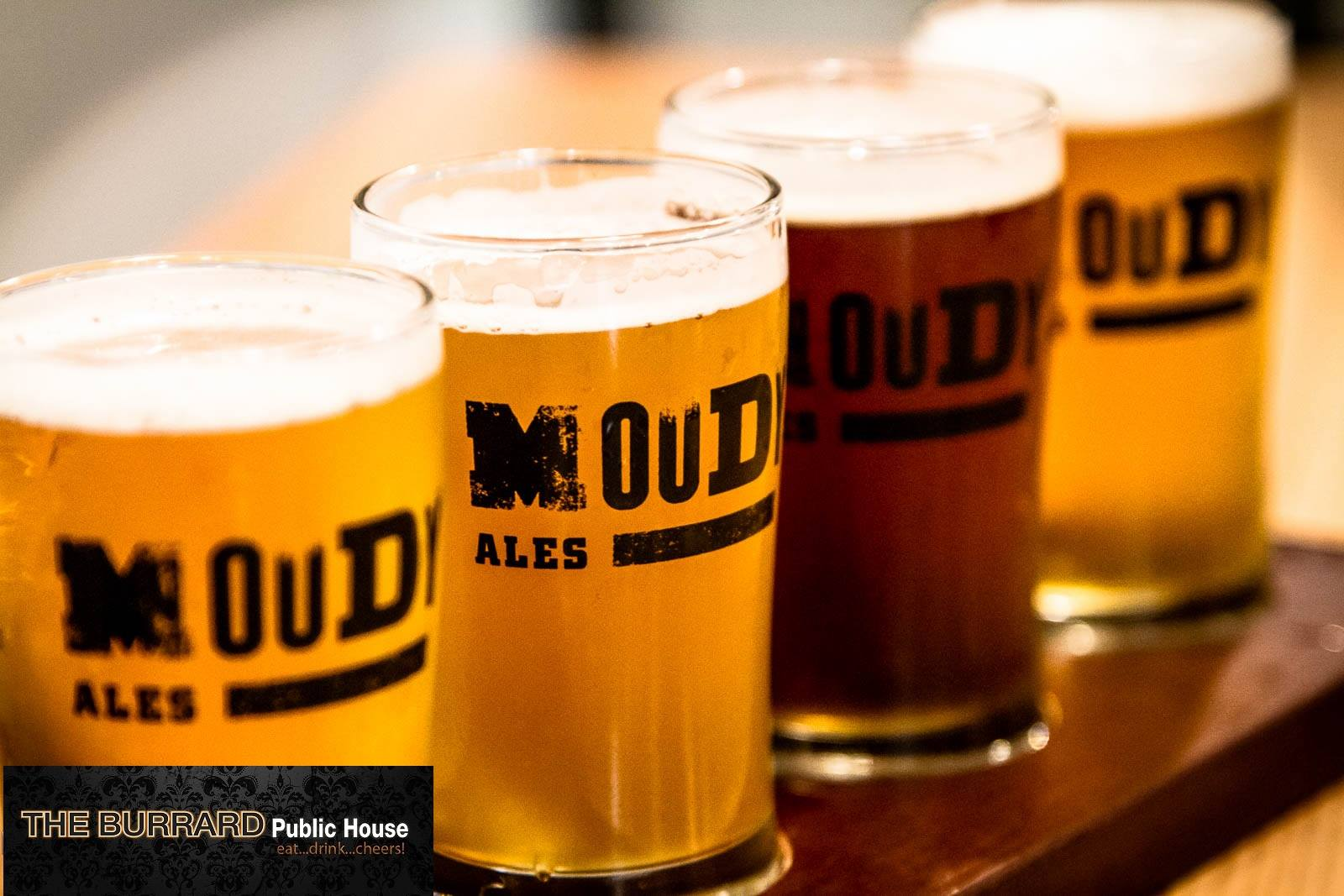 Some of Port Moody's finest ale at The Burrard Public House (The Burrard Public House/Facebook)
