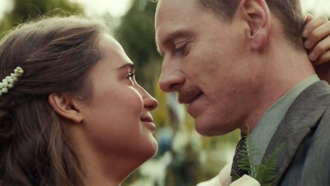 Michael Fassbender and Alicia Vikander in The Light Between Oceans - Image: Disney Pictures