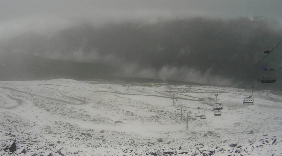First snow of the season falls on Whistler Blackcomb (PHOTOS)