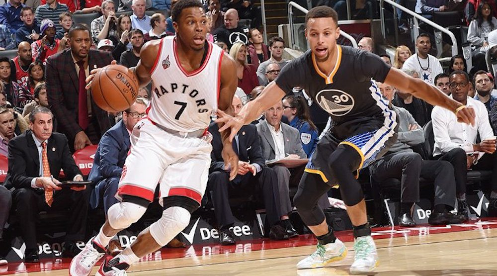 """""""It still has a basketball vibe here"""": Raptors in Vancouver for Warriors game Saturday"""